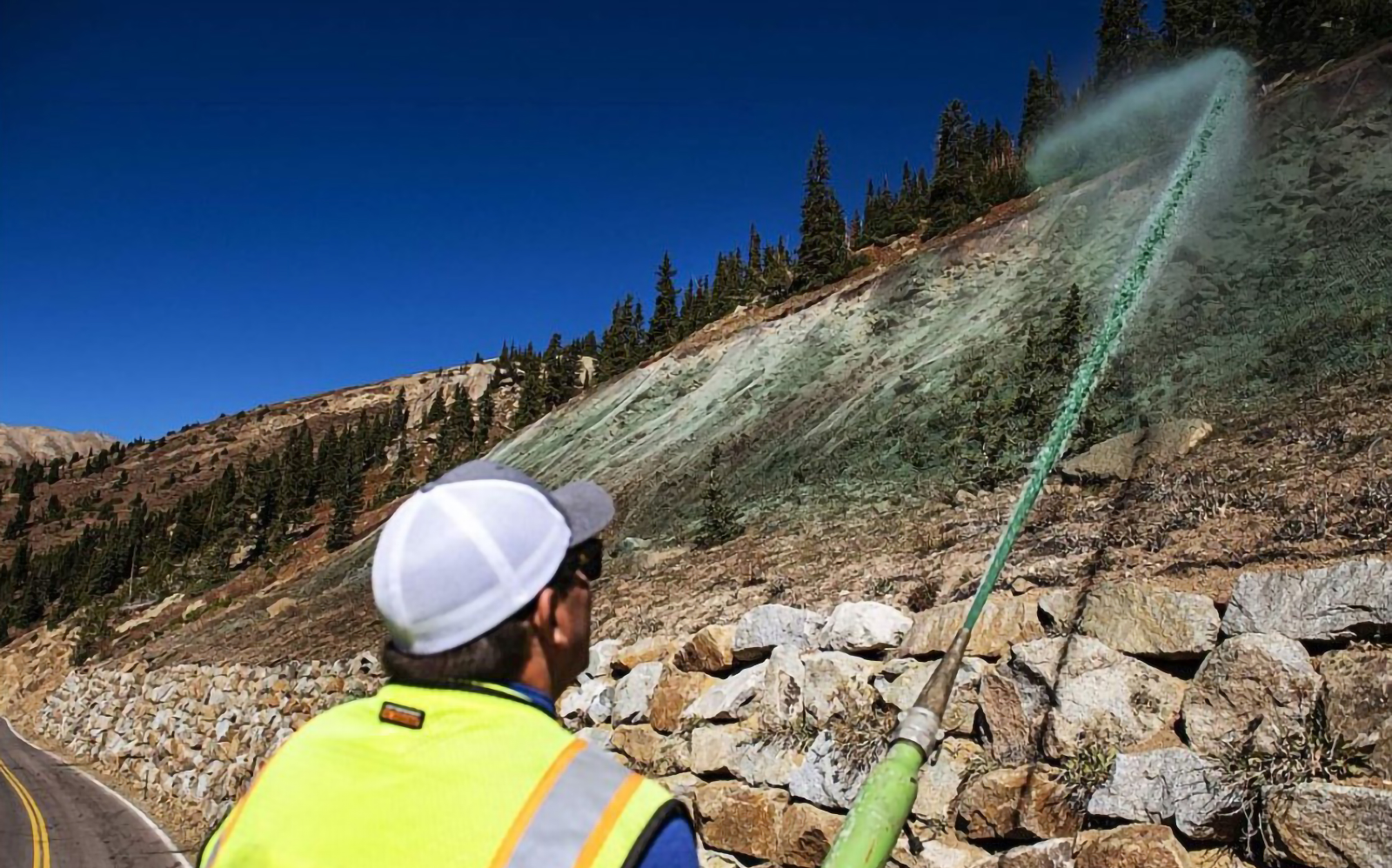 Hydroseeding for Erosion Control & Slope Stabilization with Bowman Construction Supply