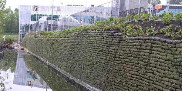 Flex MSE Vegetated Wall System